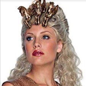 Athena deluxe wig COSTUME HALLOWEEN